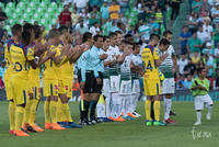 Clausura semifinal 2018, Santos vs América, ida