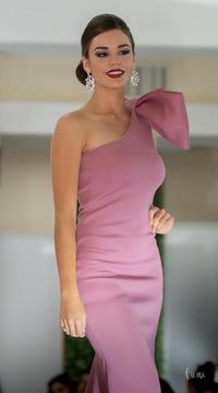 Ángela Salas - Pasarela vestidos de noche