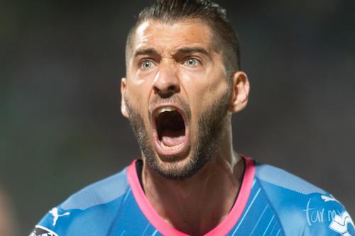 Festejo gol Nicolás Sánchez