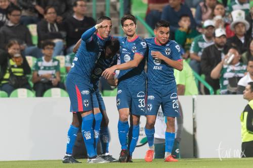 Festejo gol Funes Mori