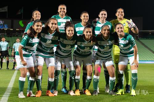 Equipo femenil Santos Laguna