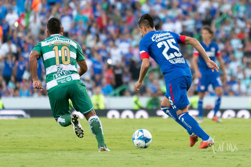 Santos vs Cruz Azul jornada 7 apertura 2018