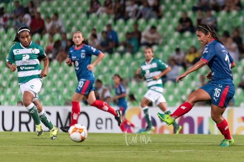 Santos Laguna vs Monterrey Femenil apertura 2018 jornada 9