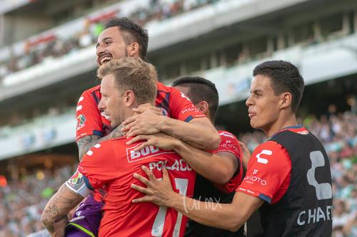 Celebración de gol, Cristián Matías Menéndez