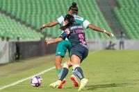 Guerreras vs Águilas, Esmeralda Verdugo, Estela Gómez