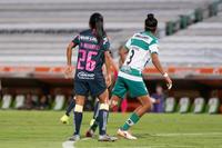 Guerreras vs Águilas, Wendy Morales, Estela Gómez