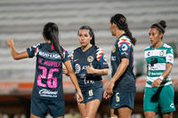 Guerreras vs Águilas, Wendy Morales, Marcela Valera, Esmeral