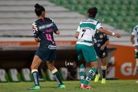 Guerreras vs Águilas, Ana Lozada, Brenda Guevara