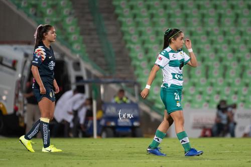 Santos vs America jornada 15 apertura 2019 Liga MX femenil