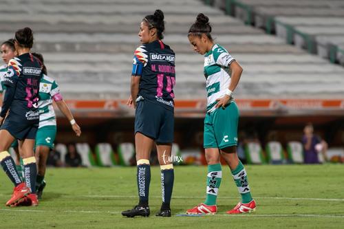 Guerreras vs Águilas, Mónica Rodríguez, Brenda Guevara