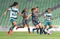 Santos vs Atlético San Luis jornada 16 apertura 2019 Liga MX femenil