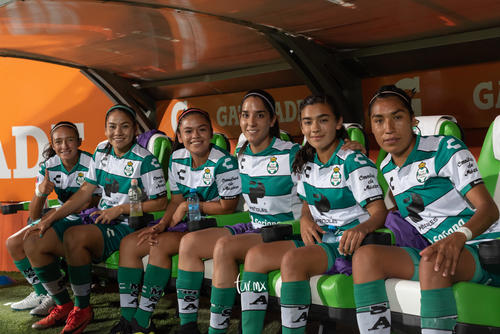 jugadoras Santos