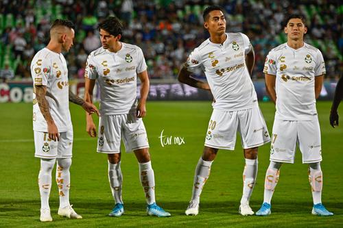 Brian Lozano, Hugo Rodríguez, Javier Cortés, Carlos Orrantia