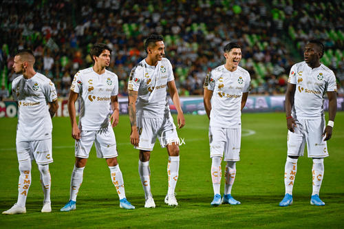 Eryc Castillo, Brian Lozano, Gerardo Arteaga, Hugo Rodríguez