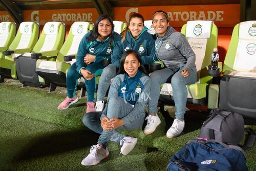 Brenda López, Yahaira Flores, Olga Trasviña