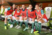Daniela Delgado, Isela Ojeda, Karla Martínez, Aidé Perez, Lind