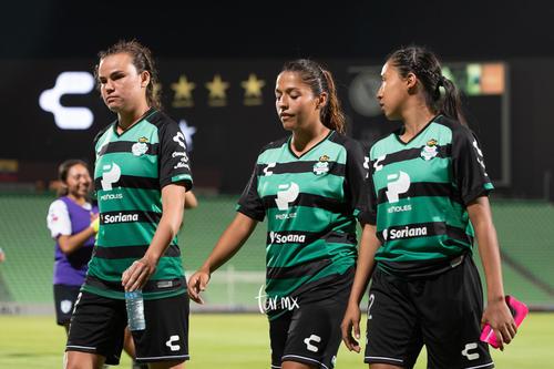 Brenda López, Olga Trasviña, Isela Ojeda