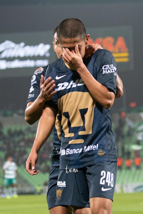 Jesús Rivas, expulsado Santos Pumas
