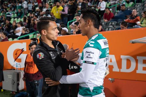 Santos León, Osvaldo Rodríguez, Hugo Rodríguez