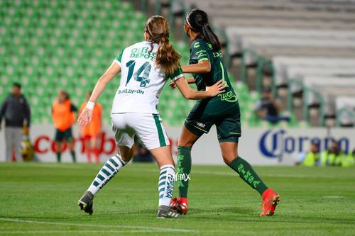 Santos vs Leon J8 C2020 Liga MX femenil