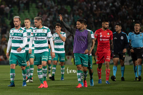 Santos vs Tigres J6 C2020 Liga MX