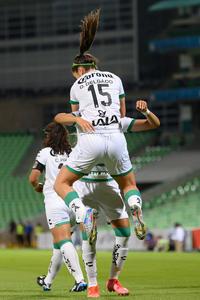 Gol de Daniela Delgado 15, Daniela Delgado, Alexxandra Ramír