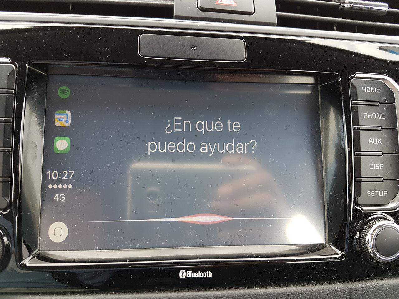 Siri en Kia Rio