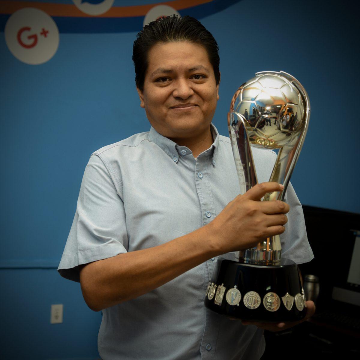 Copa del torneo Clausura 2018 donde Santos Laguna fue campeón