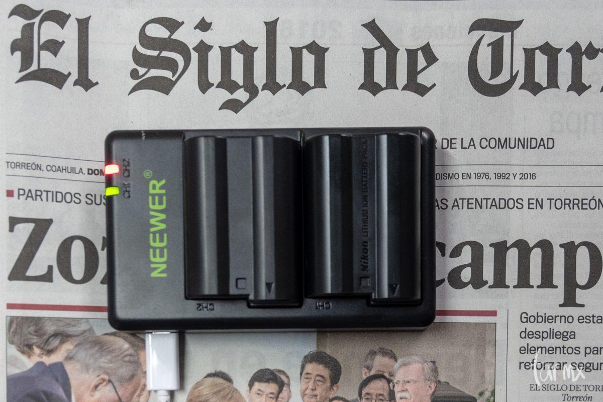 Baterías de cámara genéricas