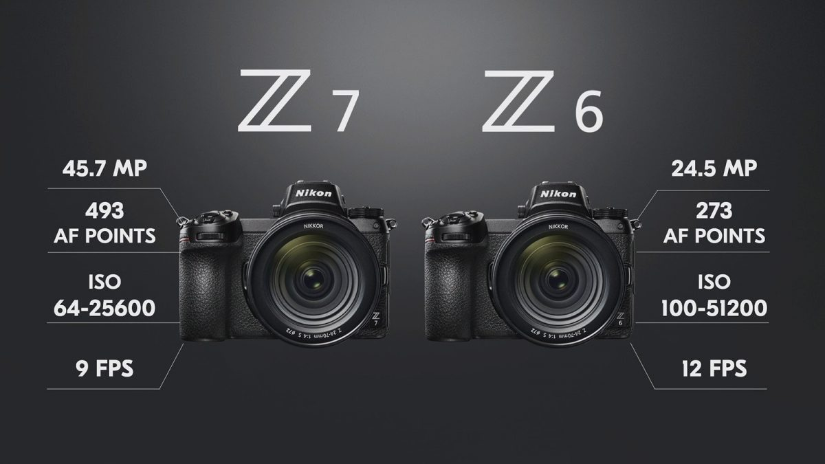 Nikon Z7, Nikon Z6