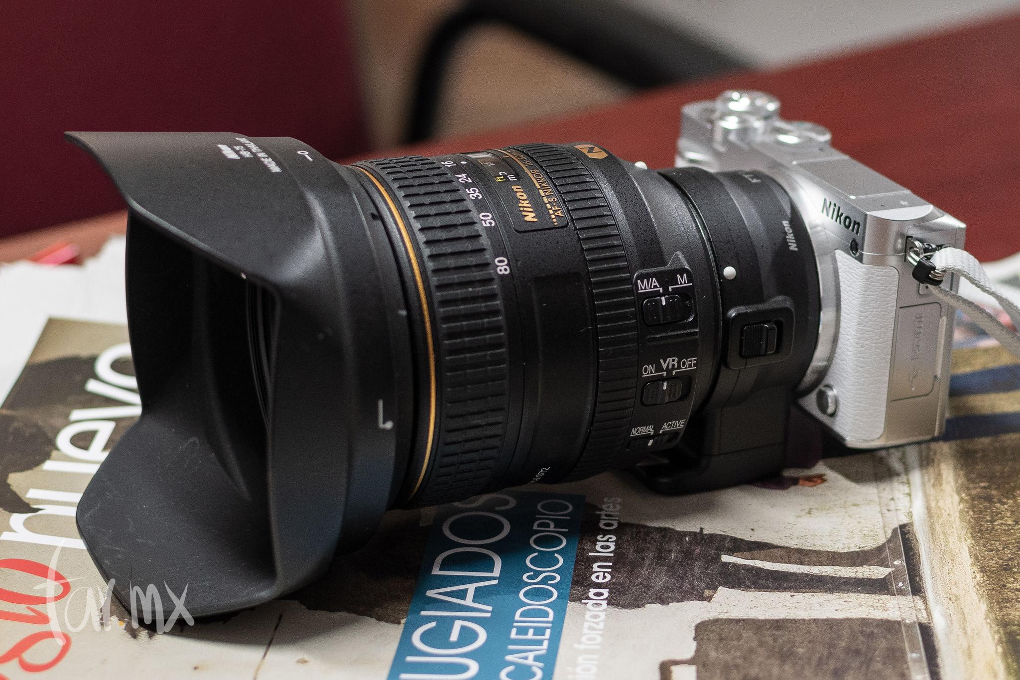 Adaptador Nikon FT 1
