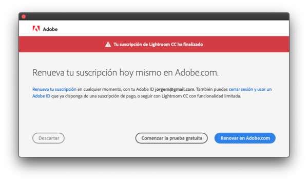 Adiós Adobe Lightroom CC, hola Apple Fotos