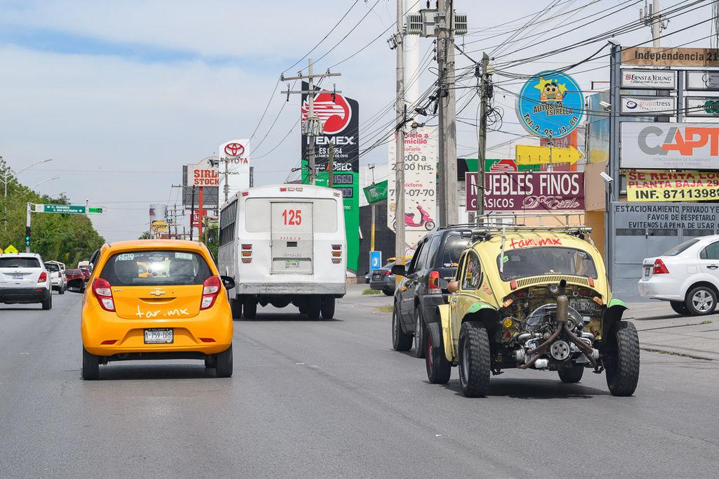 El tráfico en Torreón