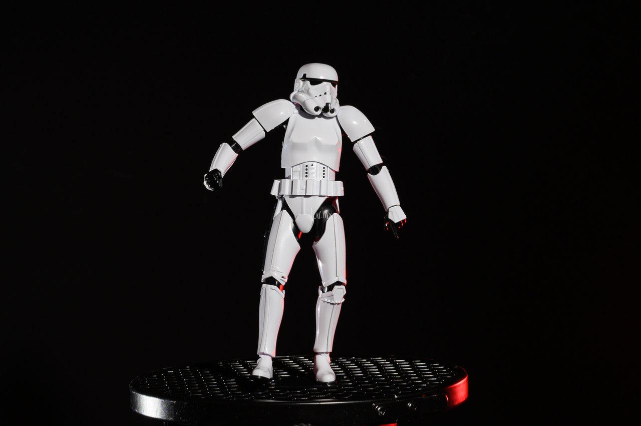 Así quedó la figura final. Stormtrooper Bandai Star Wars